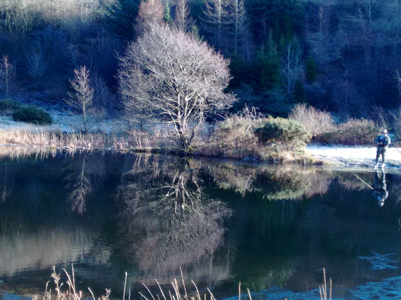 The Beautiful Glyncorrwg Ponds - in the Icy early days of 2017